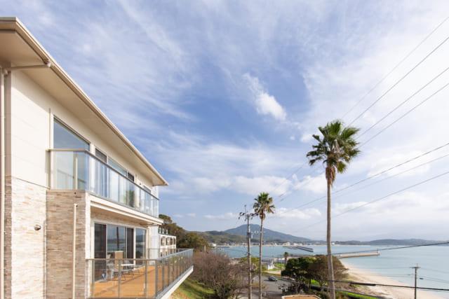 糸島の海が見える別荘